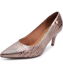 zapato de vestir cobre vizzano