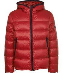 peuterey red honova down jacket