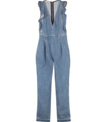 philosophy di lorenzo serafini long denim jumpsuit