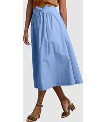kjol alba moda blå