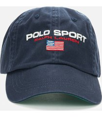polo ralph lauren men's classic sport cap - newport navy/polo sport
