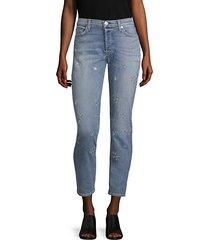 riley star straight-leg jeans
