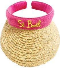 woman straw visor cap