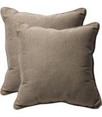 """monti chino 18.5"""" throw pillow, set of 2"""