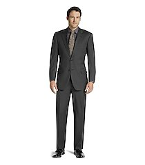 signature collection traditional fit herringbone men's suit clearance by jos. a. bank