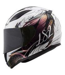 capacete ls2 ff353 rapid tech camaleão multicolorido