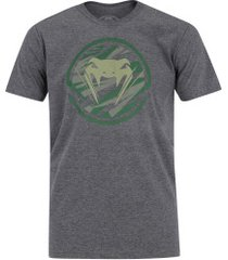 camiseta venum camo evo light - masculina - cinza claro