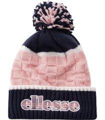 ellesse heritage belim beanie |navy & pink| ac1146-npk