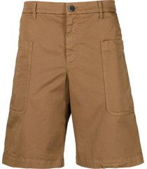 barena stretch-cotton bermuda shorts - neutrals