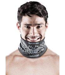 bandana de invierno e9 reversible protección uv negro naroo mask