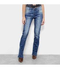 calça jeans carmim wessex bootcut feminina