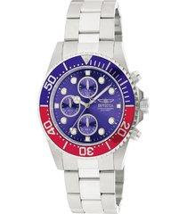 reloj invicta acero modelo 17lh para hombres, colección pro diver