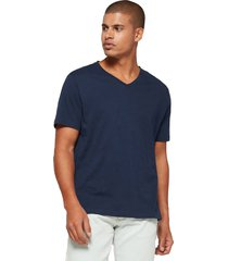 camiseta azul navy gap