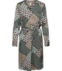 sc-nola jurk knielengte groen soyaconcept