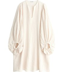 dausia dress in cream