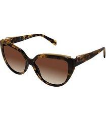 57mm modified cat eye sunglasses