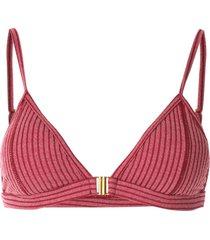 duskii capriosca bikini top - red