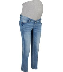 jeans prémaman cropped skinny (blu) - bpc bonprix collection