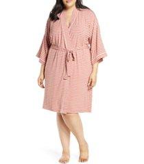 plus size women's nordstrom lingerie moonlight jersey robe