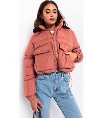 akira cropped puffer jacket