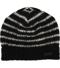 saint laurent striped beanie