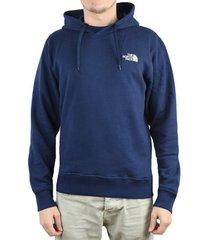 sweater the north face seasonal drew peak hoodie