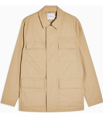 mens stone ripstop jacket