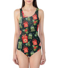 merry christmas gifts women's swimsuit