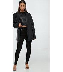 nudie jeans hightop tilde ever black skinny