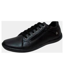 sapatênis casual estilo pleno lc602 black