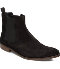 stanford top shoes chelsea boots zwart clarks
