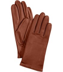 charter club women's cashmere lined leather tech gloves, created for macy's
