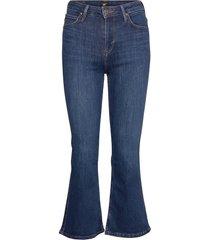 kicked flare jeans wijde pijpen blauw lee jeans