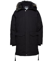osaka m parka jacket outerwear sport jackets padded jackets svart halti
