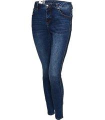 opus skinny jeans evita blue pearls