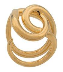 charlotte chesnais anel blaue com nó - dourado