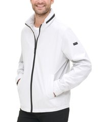 dkny men's lightweight water resistant bomber jacket, created for macy's