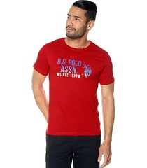 camiseta rojo us polo assn