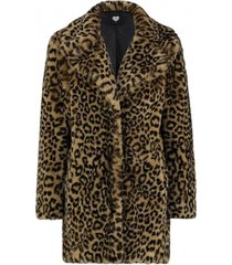 jevi faux fur coat