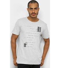 camiseta forum básica since 1981 masculina