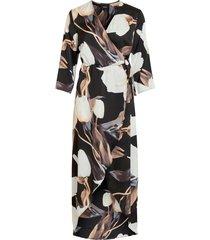 maxiklänning objpania wrap dress