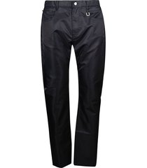 1017 alyx 9sm fitted shiny jeans