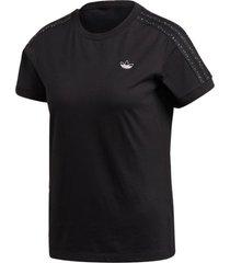 camiseta adidas bb t-shirt preto - branco - feminino - dafiti