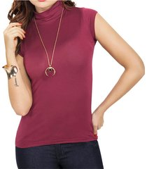 blusa gold vinotinto  para mujer croydon