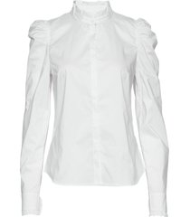 hania blouse lange mouwen wit custommade