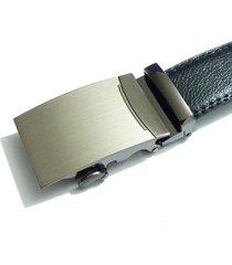 cinturon hombre lujo hebilla automatica zdk843m1 - color negro