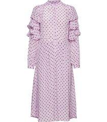 panola jurk knielengte roze stella nova