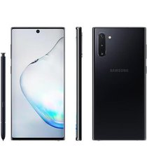 smartphone samsung galaxy note 10 256gb preto 4g