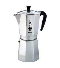 cafeteira italiana nuova moka express 18 xícaras bialetti alumínio prata