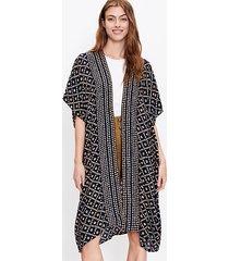 loft patchwork kimono